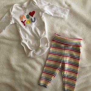 H&M Newborn Outfit Set